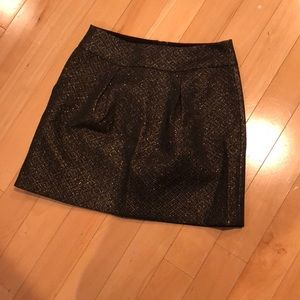 Granite and gold skirt